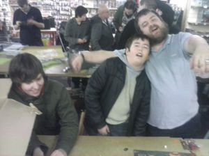 Glenn, Tom and Chris join the ranks of the zombie horde